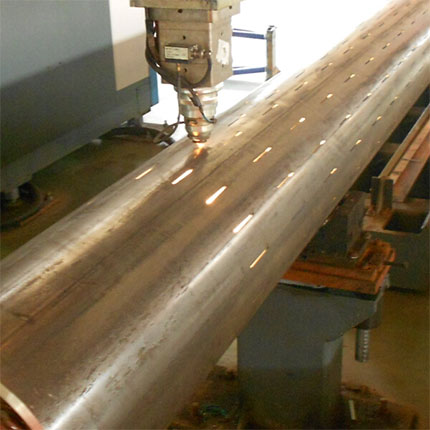slotted liner pipe